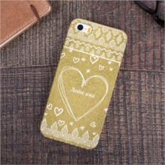 Именной чехол для iPhone Тёплое сердце