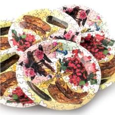 Набор из 6 тарелок Пазл