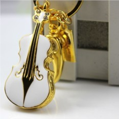 Флешка Скрипка, 8 Гб (металл)