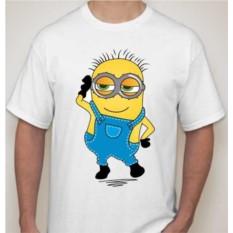 Мужская футболка Миньон, мальчик