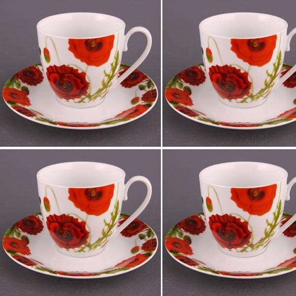 Чайный набор на 6 персон Маки