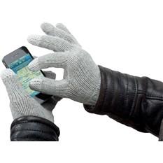 Красные перчатки для iPhone