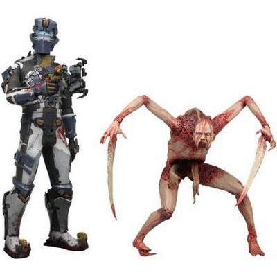 Набор из фигурок Isaac Clarke & Necromorph
