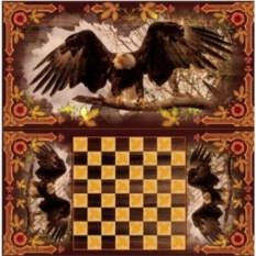 Настольная игра нарды и шашки Орел