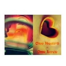 Тетрадь для блоков One heart