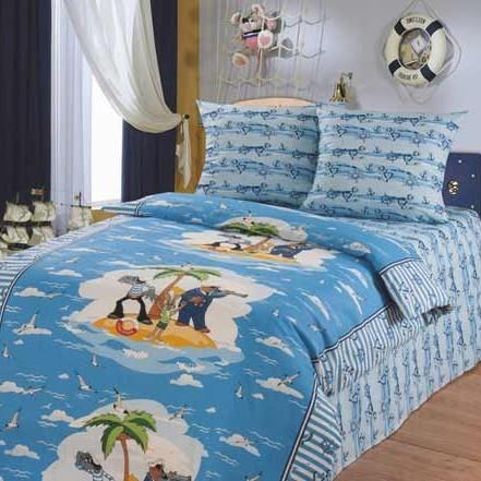 Детское постельное бельё «Морская прогулка»