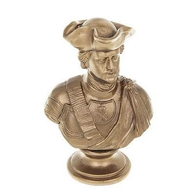Статуэтка Золотой Бюст Петра I