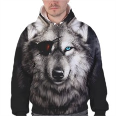 Толстовка Волк с повязкой