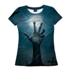 Женская футболка 3D Рука