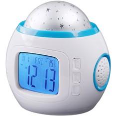 Часы-будильник с ночником «Проектор звездного неба»
