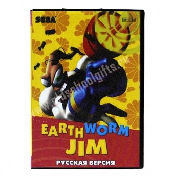 Картридж для Sega - игра Earth Worm Jim