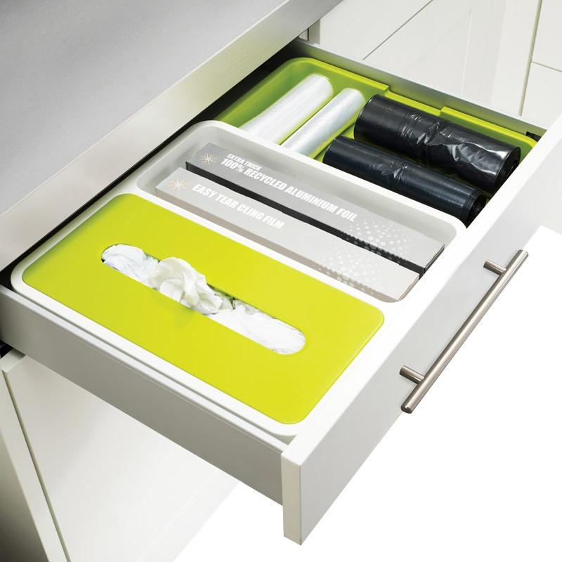 Органайзер для кухонного ящика DrawerStoreфя Stowaway белый