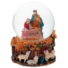 Декоративная фигурка в стеклянном шаре Рождение Христа