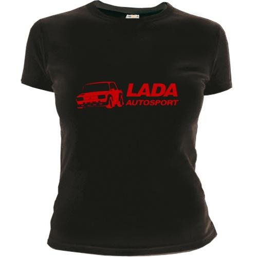 Женская футболка LADA – Autosport