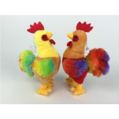 Мягкая игрушка Разноцветный петух