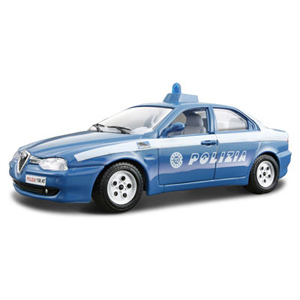 Машина Alfa Romeo 156 Polizia 1/24
