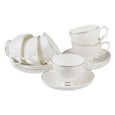Чайный набор на 6 персон Вивьен, 300 мл