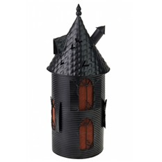 Подсвечник для свечи-таблетки Черная башня