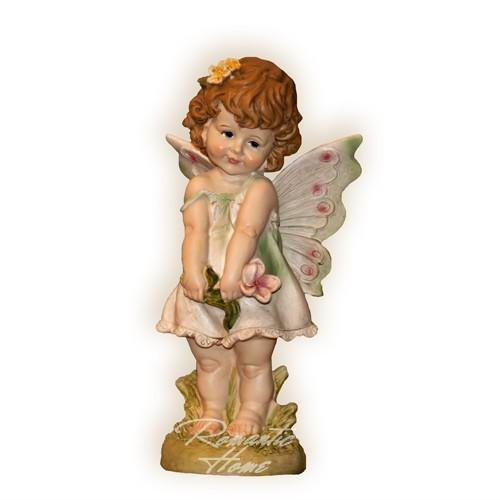 Ангелочек девочка с цветком
