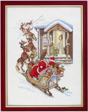 Набор для вышивания Санта-Клауса