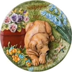 Декоративная тарелка Мой щенок