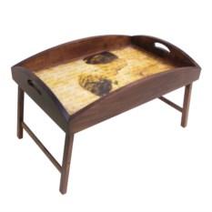 Столик для завтрака в постель с высоким бортиком Нежность