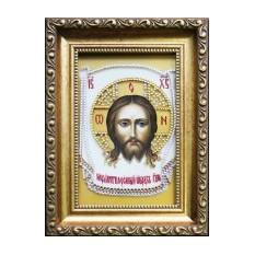 Картина Swarovski Икона Спас Нерукотворный