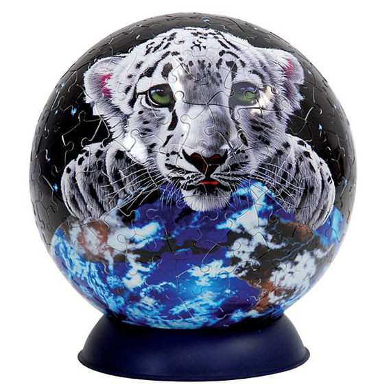 Шаровый пазл «Шиммель. Белый тигр»