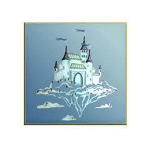 Картина Swarovski - Волшебный замок