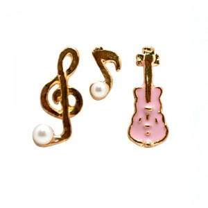 Серьги-гвоздики Музыка