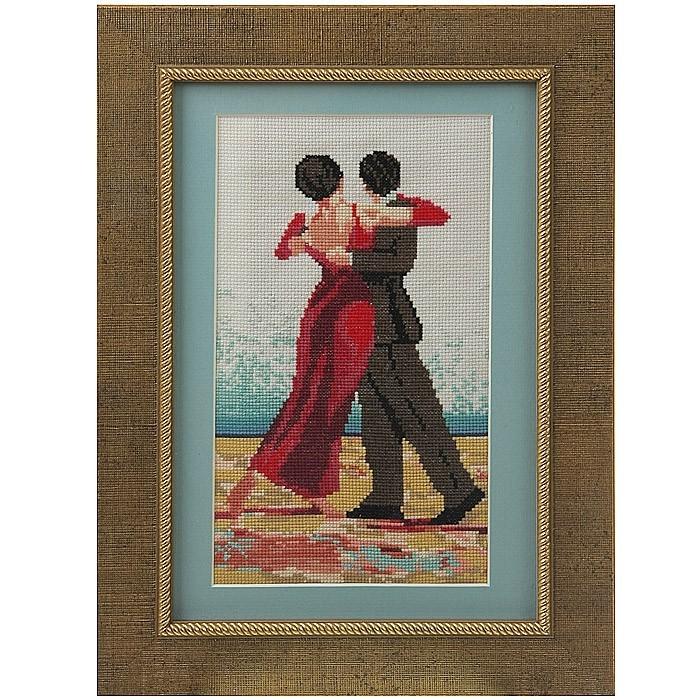 Вышитая картина «Танго»