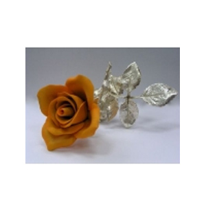 Цветок «Желтая роза»