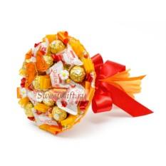 Букет из конфет Оранж