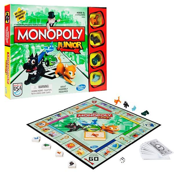 Настольная игра Hasbro Monopoly Моя первая Монополия