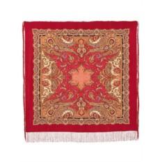 Павлопосадский шелковый платок Восточные сладости