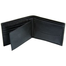 Черное кожаное портмоне Giemme Box