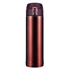 Термостакан Quick Open (коричневый металлик, 480 мл)