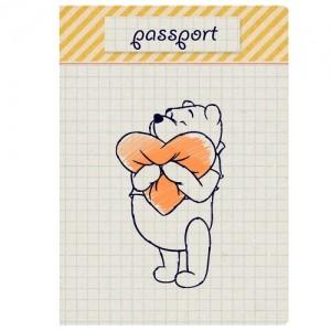 Обложка для паспорта Любимый медвежонок