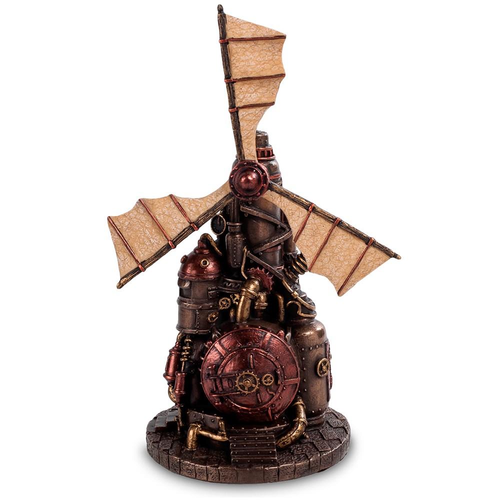 Шкатулка в стиле Стимпанк «Ветряная мельница»