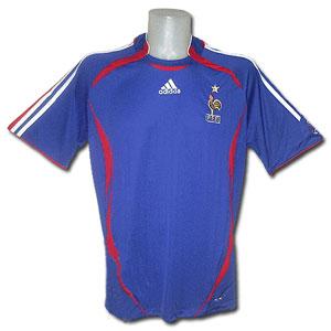 Игровая майка Франция ЧМ-2006