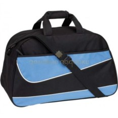 Черно-синяя спортивная сумка Fitness