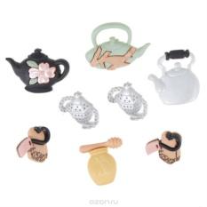 Пуговицы декоративные Dress It Up Время для чая