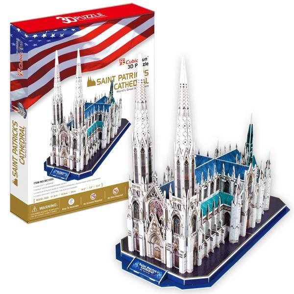 3D пазл Cubic Fun Собор Святого Патрика (США)
