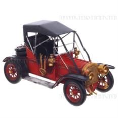 Модель Черно-красный автомобиль , длина 32 см