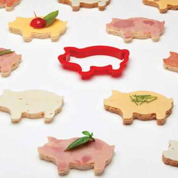 Форма для бутербродов «Свинка»