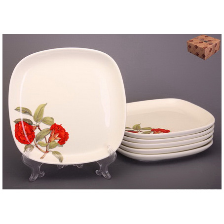 Набор тарелок десертных из 6 шт. «Гранаты» 19 см