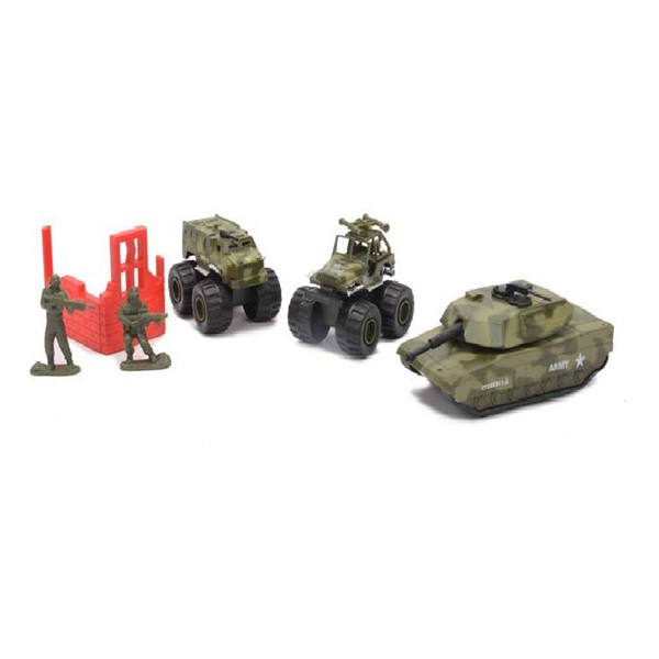 Набор машинок Soma Военная техника