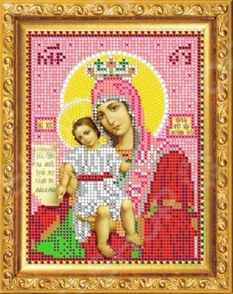 Набор для вышивания бисером «Образ преподобной Богородицы»