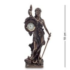 Статуэтка-часы Фемида — богиня правосудия