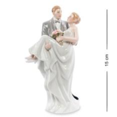 Фарфоровая статуэтка Влюбленная пара (Pavone)